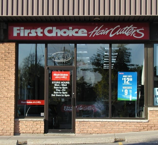 First Choice Haircutters Prices